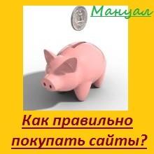 Как правильно и где купить сайт с доходом?